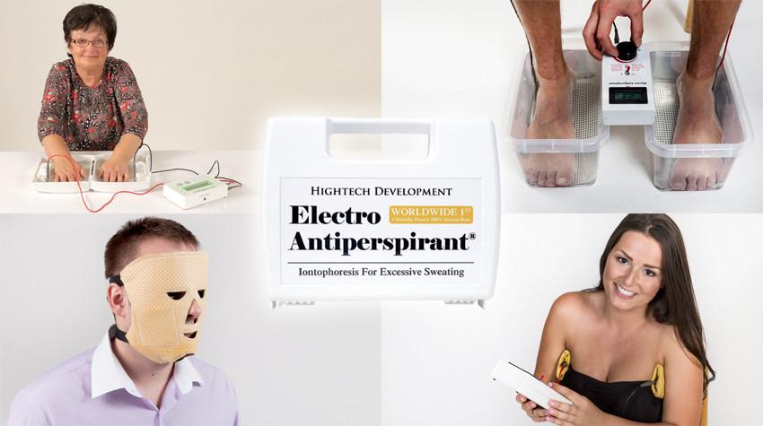 Electro Antiperspirant proti nadměrnému pocení