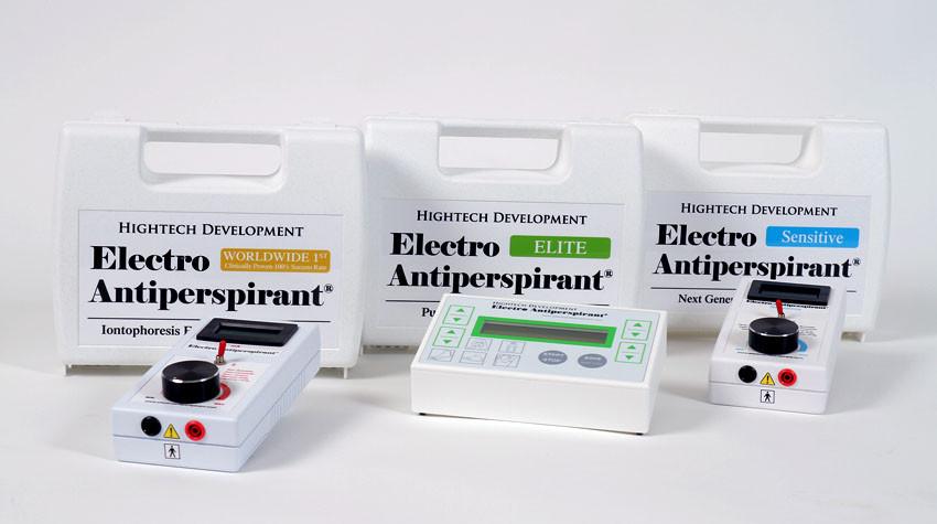 Nadměrné pocení vyřeší Hightech Electro Antiperspirant