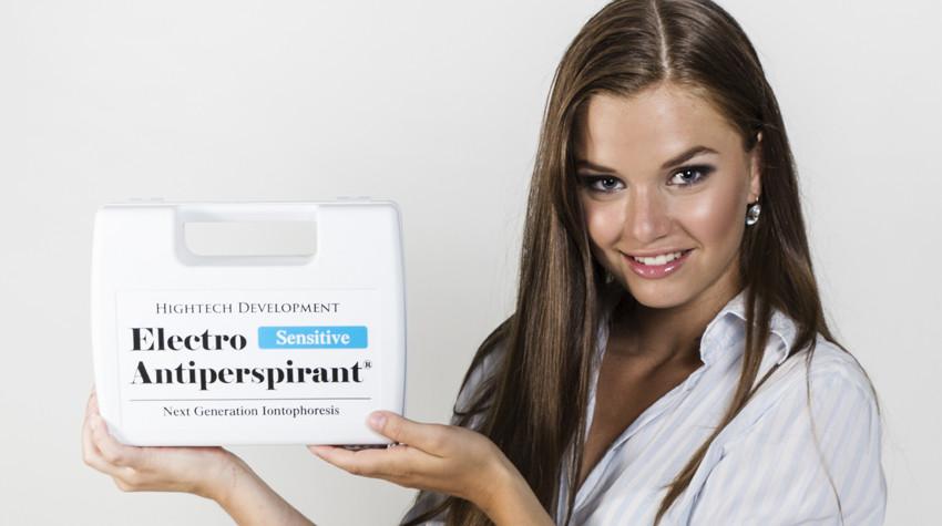 Electro Antiperspirant definitivně odstraní nadměrné pocení